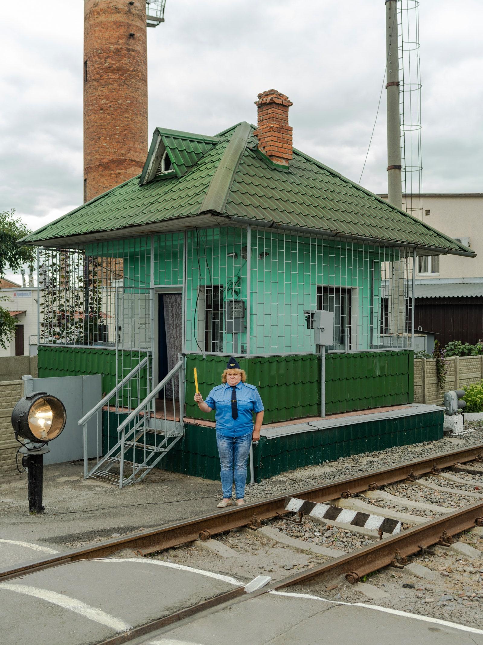 The Women of Ukraine's Railroads Keep the Trains Running Photography