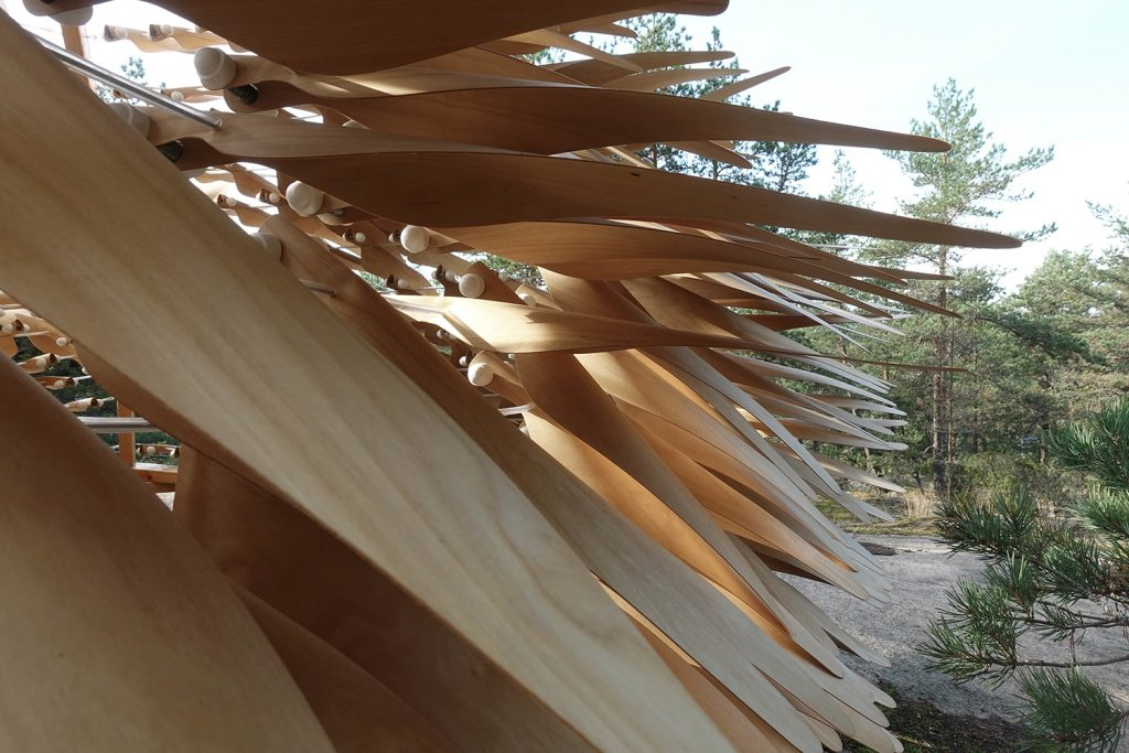 A « shiver House » Adapting to the Forces of Nature – Fubiz Media Design