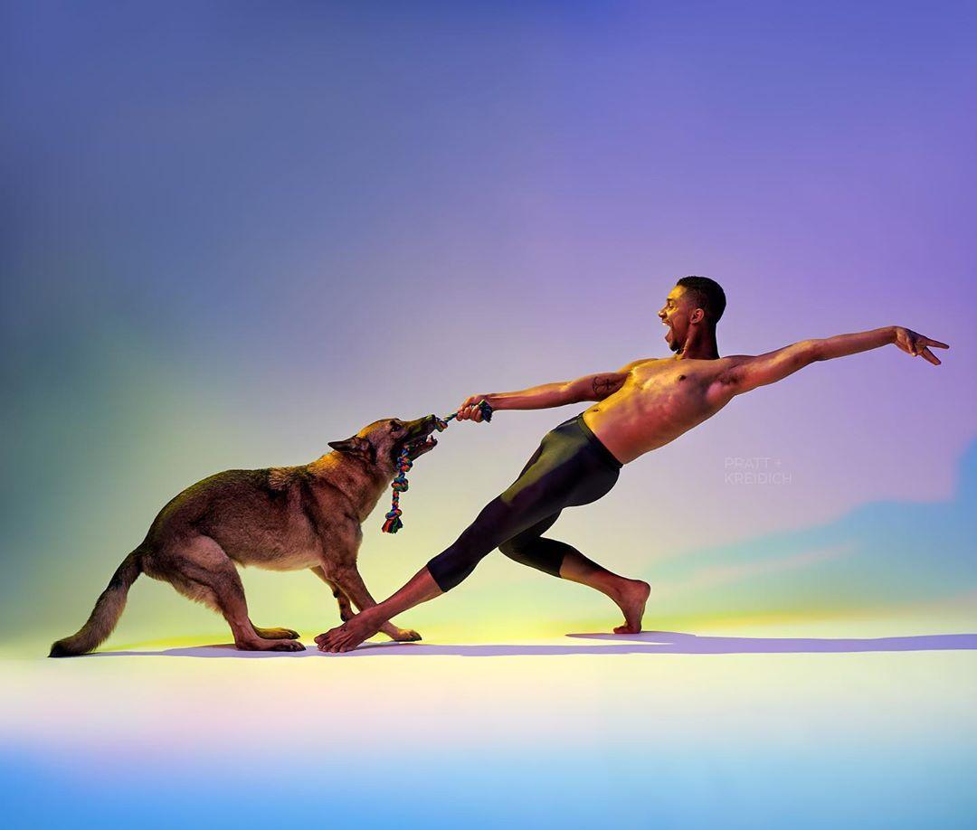Photographs Of Dancers and Their Pups – Fubiz Media Design