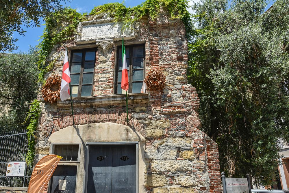 Christopher Columbus's House in Genoa Photography