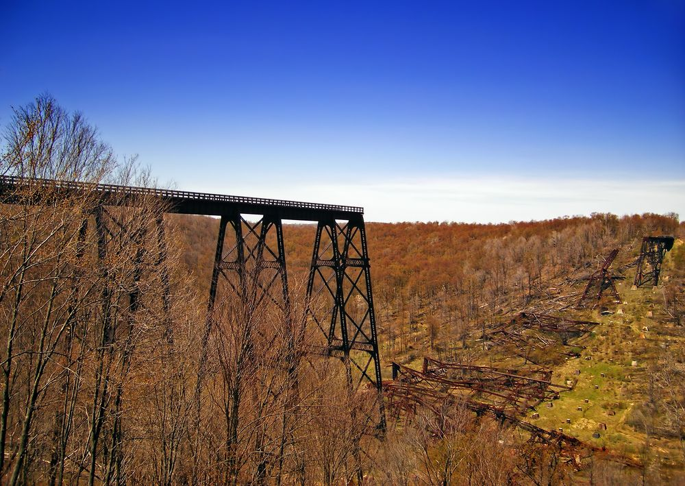 Kinzua Viaduct: The Fallen Bridge Photography
