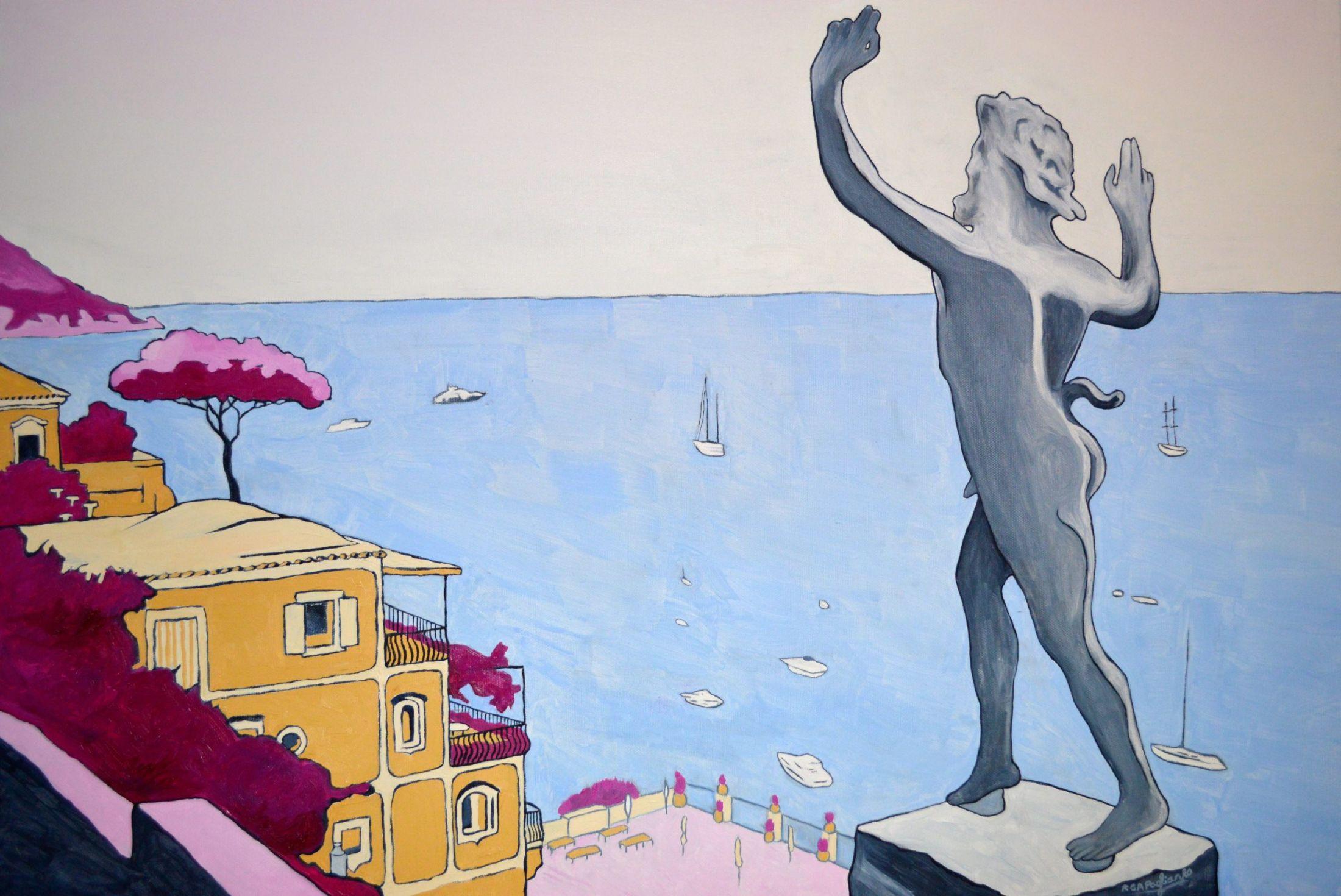 Beautiful Paintings of the Amalfi Coast – Fubiz Media Design