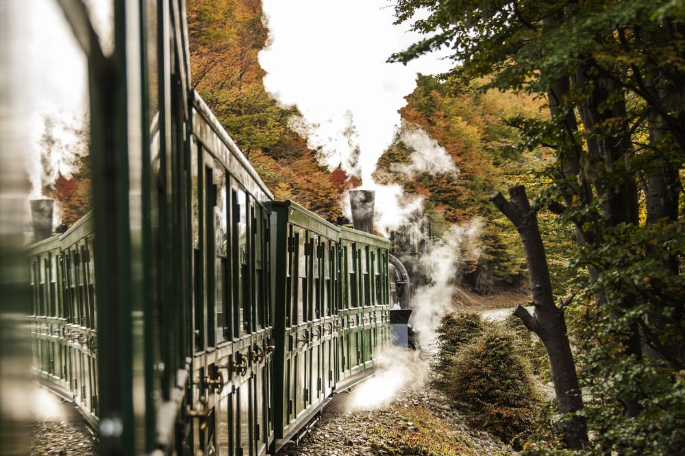 The Train of The End of The World Photography